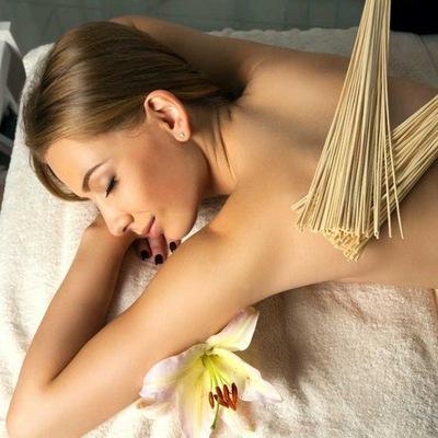 Массаж бамбуковыми веничками